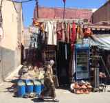 A little shop one of the many alleyways in Marrakech
