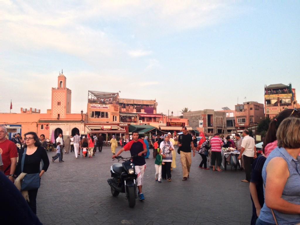Medina in Marrakech