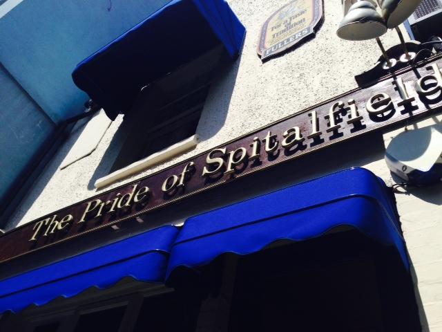 Pride of the Spitalfields