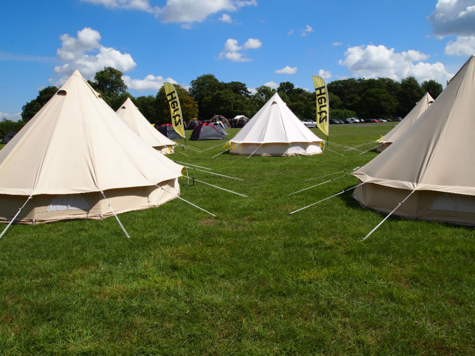 Blogstock Tents