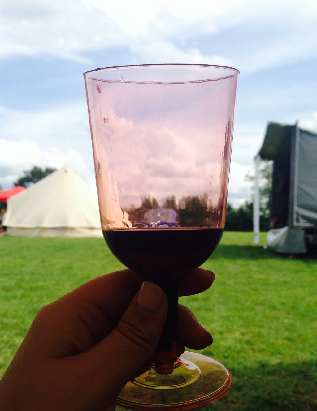 Blogstock wine cup