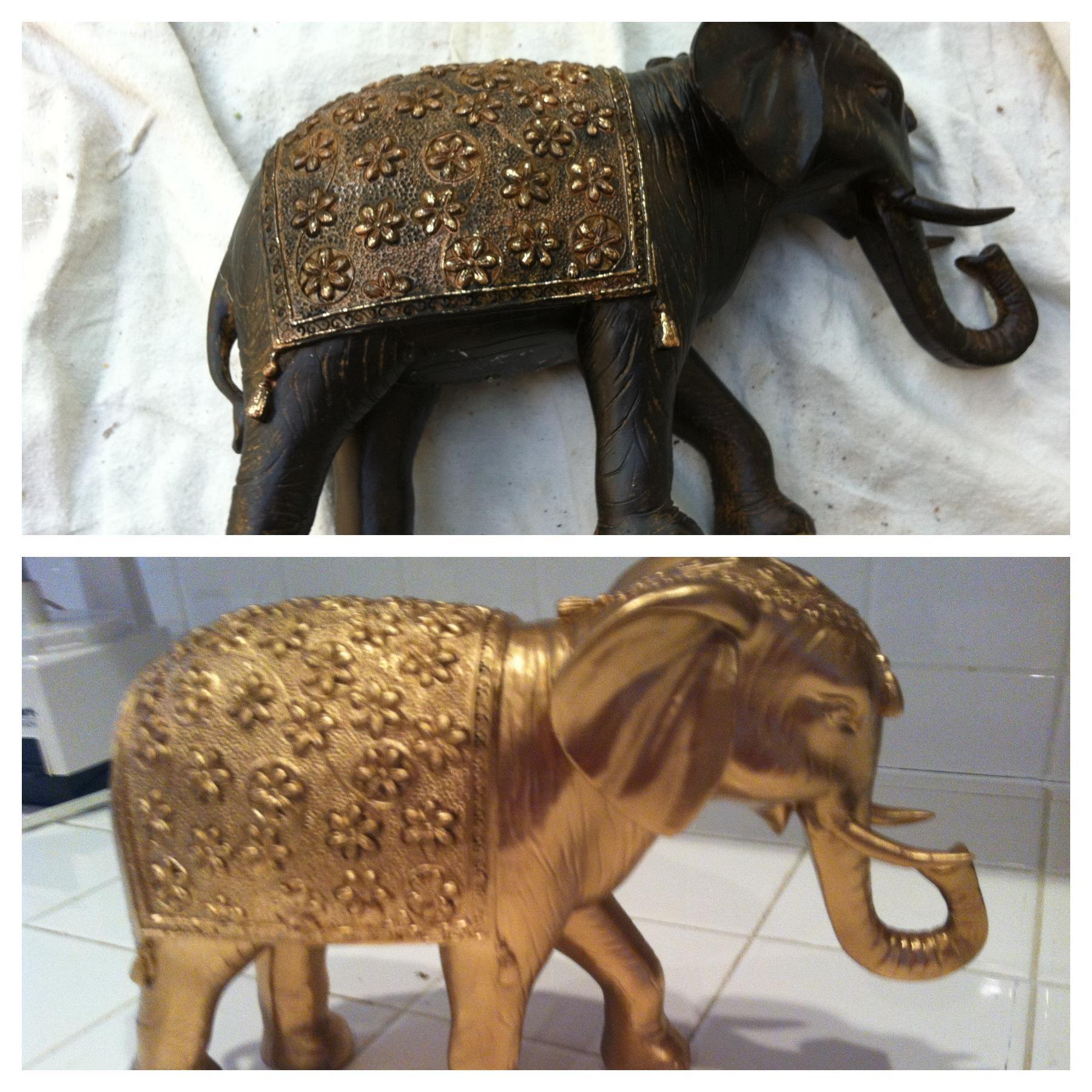 Elephant statue DIY