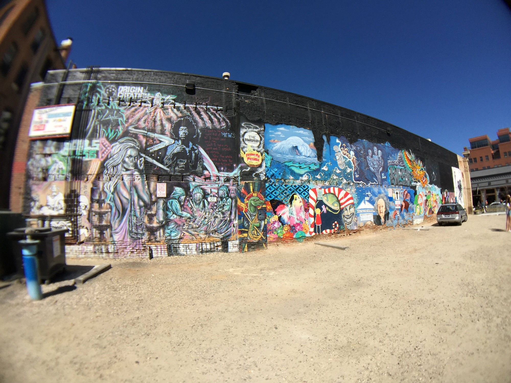 Wide Angle Freak Alley